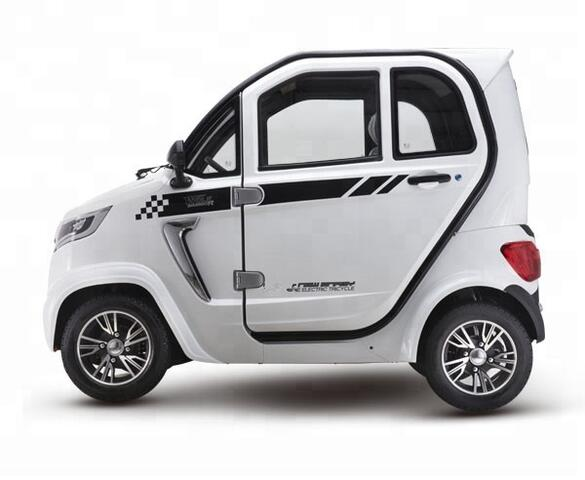 Kabinescooter BACH 27 quadricycle incl. Batteri RS125